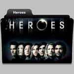 Heroes tv show folder icon