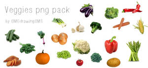 veggies-PNG by OMGdrawingOMG by OMGdrawingOMG