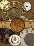 Clock Face PNG pack.