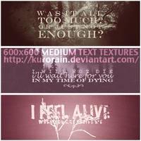 Text Textures #02
