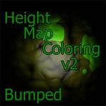 Height map: Bumpmaped