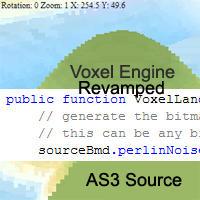 Reamped Voxel Landscape Source