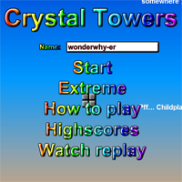 Crystal Towers Beta by wonderwhy-ER