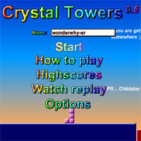 Crystal towers 0.8