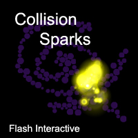 Collision Sparks by wonderwhy-ER