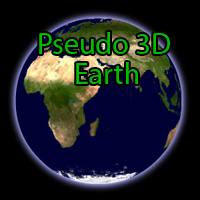 Pseudo 3D Earth by wonderwhy-ER