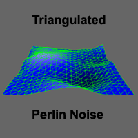 Triangulated Perlin Noise by wonderwhy-ER