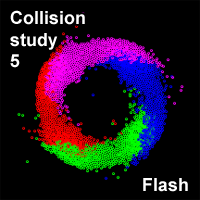 Collision study 5 by wonderwhy-ER