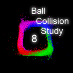 Ball Collision Study 8 by wonderwhy-ER