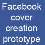 Facebook cover creator prototype