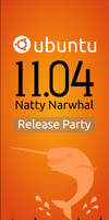 Ubuntu Natty Roll Up Banner