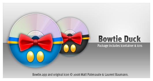 Bowtie Duck by slartibartmads