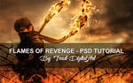 Flames Of Revenge - PSD File