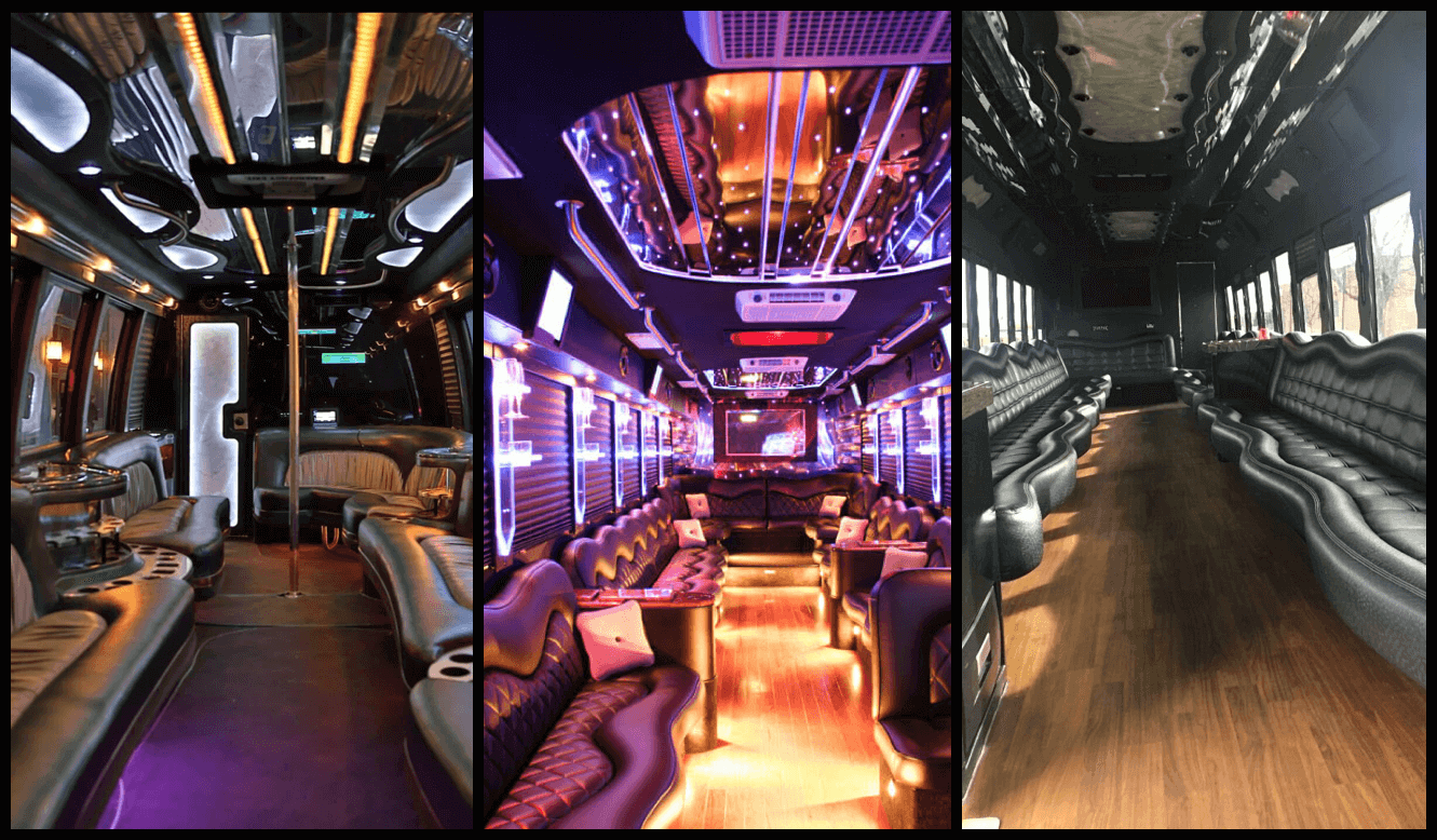 Party bus with bathroom national search directory by for Party bus with bathroom