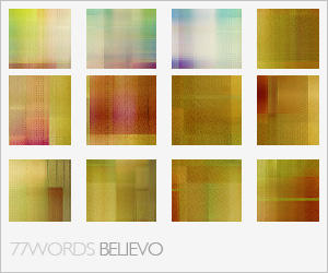 textures: believo by 77words