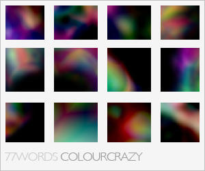textures: colour crazy by 77words