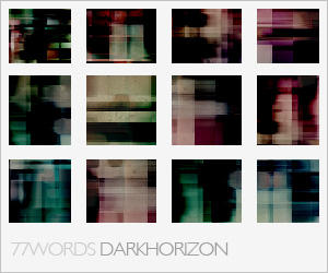 textures: dark horizon by 77words