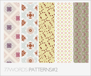 patterns: set no.2 by 77words