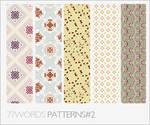 patterns: set no.2