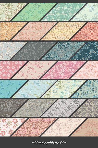 patterns: set no.7