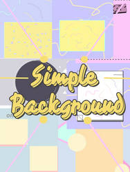 Simple background pack by teshlazh