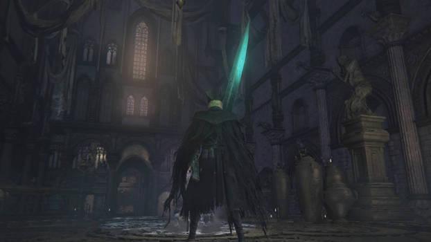 Bloodborne moonlight sword animation by Magen-ta