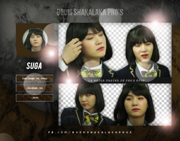 Suga PNG PACK 2