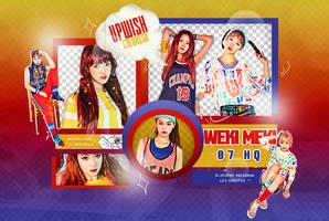 WEKI MEKI PNG PACK #1 WEME by Upwishcolorssx