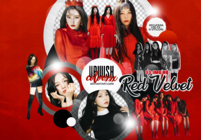 RED VELVET PNG PACK/#1/Perfect Velvet by Upwishcolorssx on