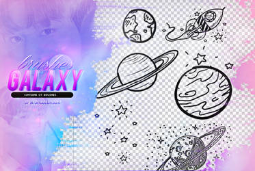 Recursos/Brushes/GalxyOnne by Upwishcolorssx