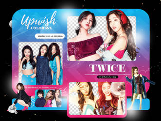 TWICE PNG PACK #8/NYLON KOREA by Upwishcolorssx