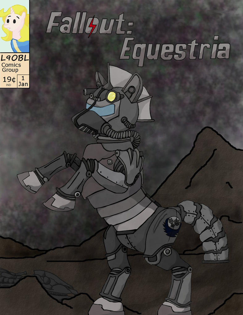 Fallout Equestria: The Hand Drawn Comic Issue 1 by L9OBL