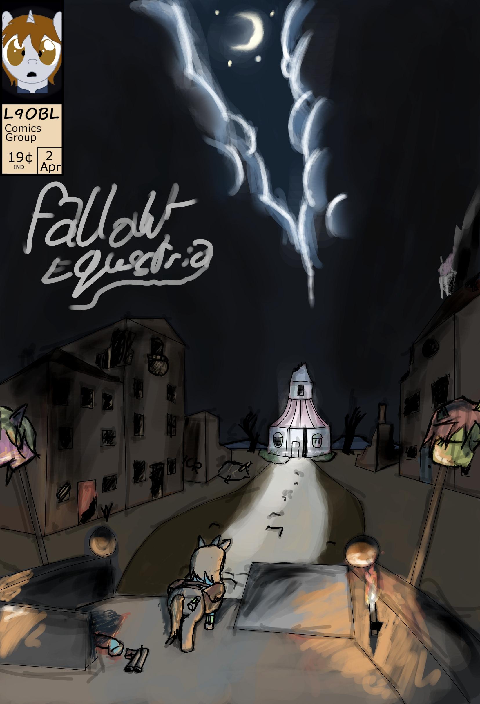 Fallout Equestria: The Hand Drawn Comic Issue 2