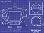 Pip Buck 3000 Blueprints Wallpaper