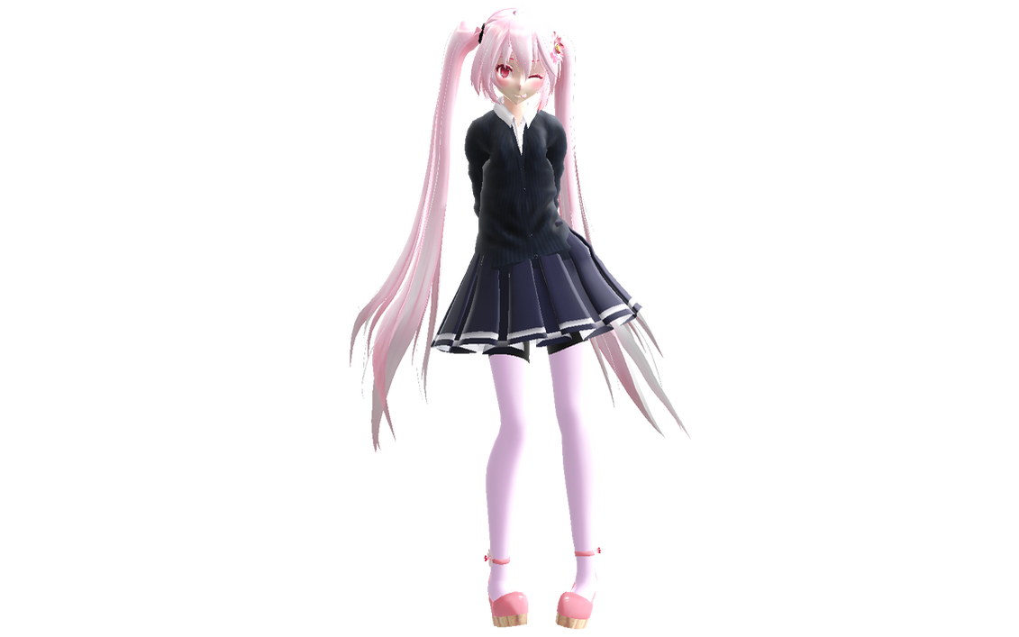 Changing Model S Clothes Mmd