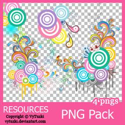 PNG pack #2 - Vy Tuzki by VyTuzki
