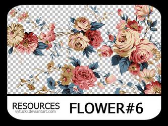 PNG pack #10 - Flower#6 - Vy Tuzki by VyTuzki by VyTuzki