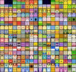 Free Avatars All Kanto Pokemon by The-Blue-Pangolin