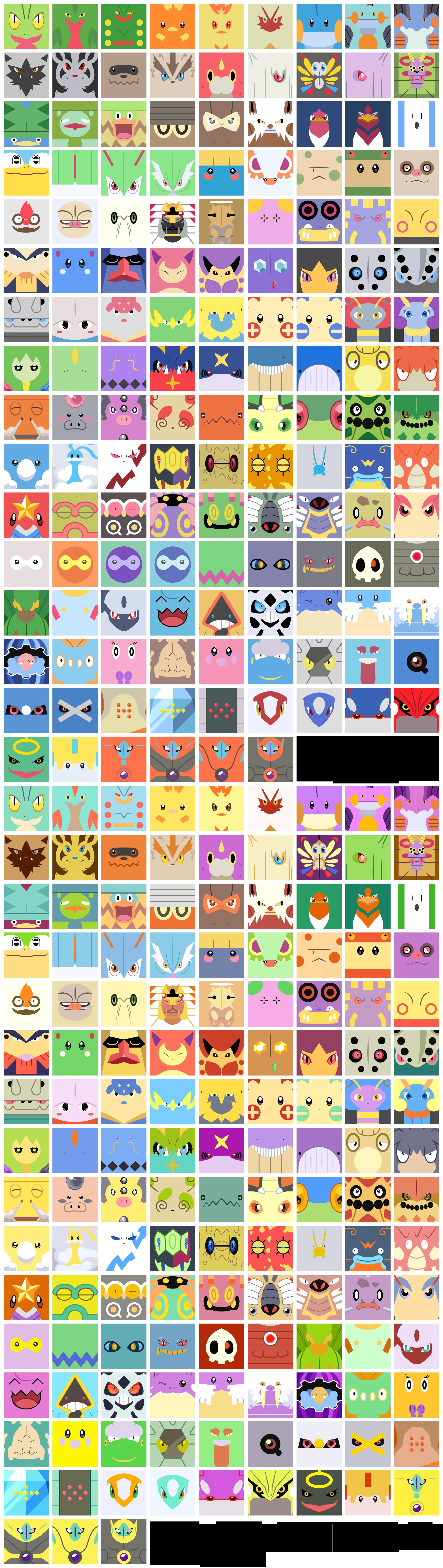 Free Avatars: All Hoenn Pokemon by The-Blue-Pangolin on DeviantArt