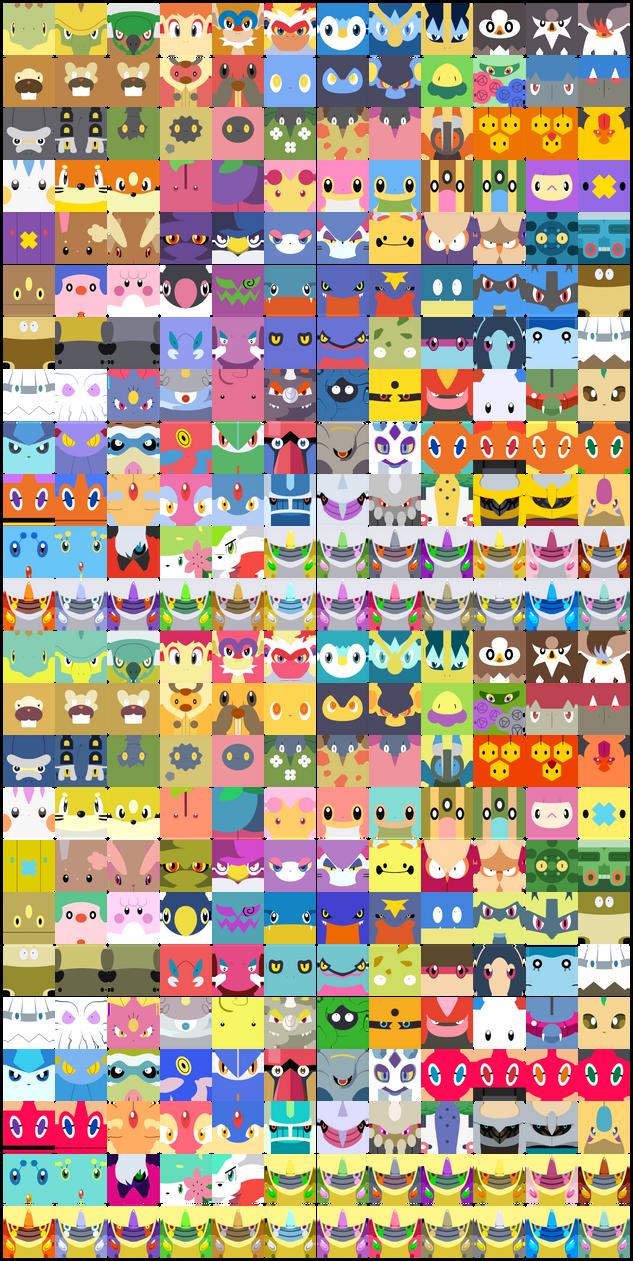 Free Pokemon Avatars: Gen IV by The-Blue-Pangolin