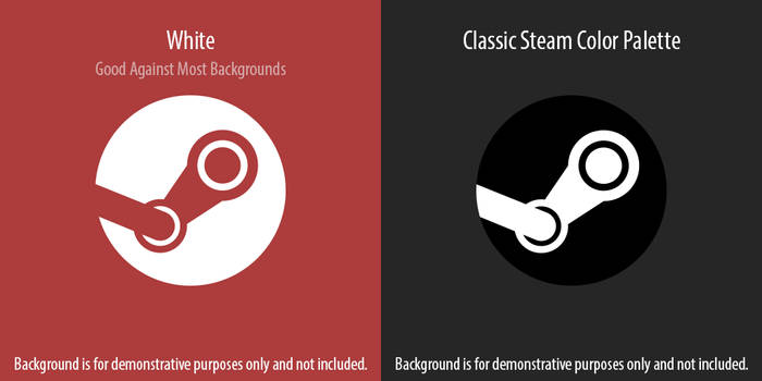Modern Steam Icon