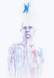 last blue breath by agnes-cecile