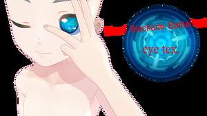 MMD DL  Blood Blockade Battlefront eye tex.