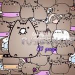 +MEGA PACK PNG Pusheen cat.