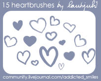 Heartbrushes 2 by wizardlaura