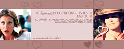 Hearts - Decorationbrushes by wizardlaura