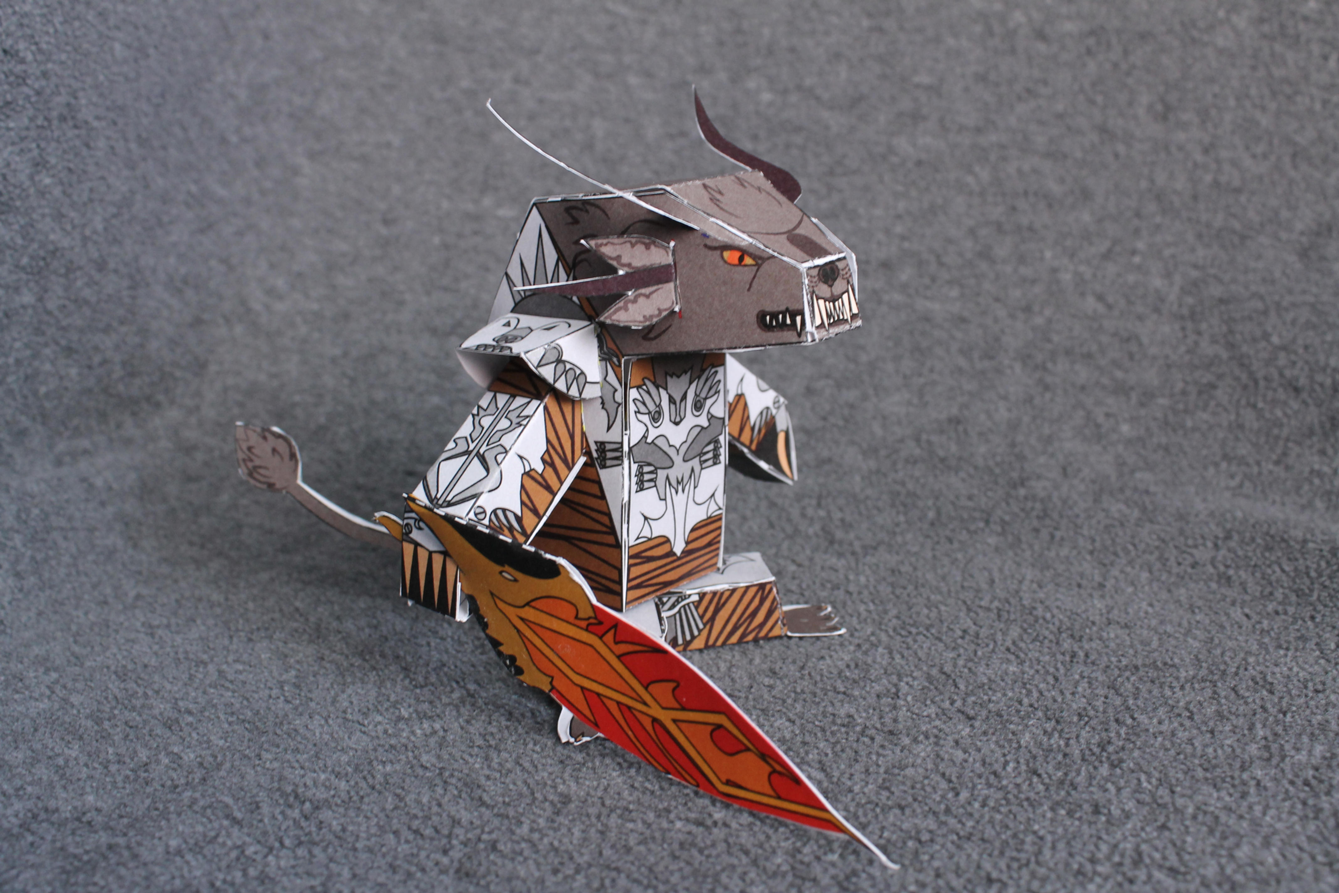 Papercraft Charr PDF by Riot-Inducer