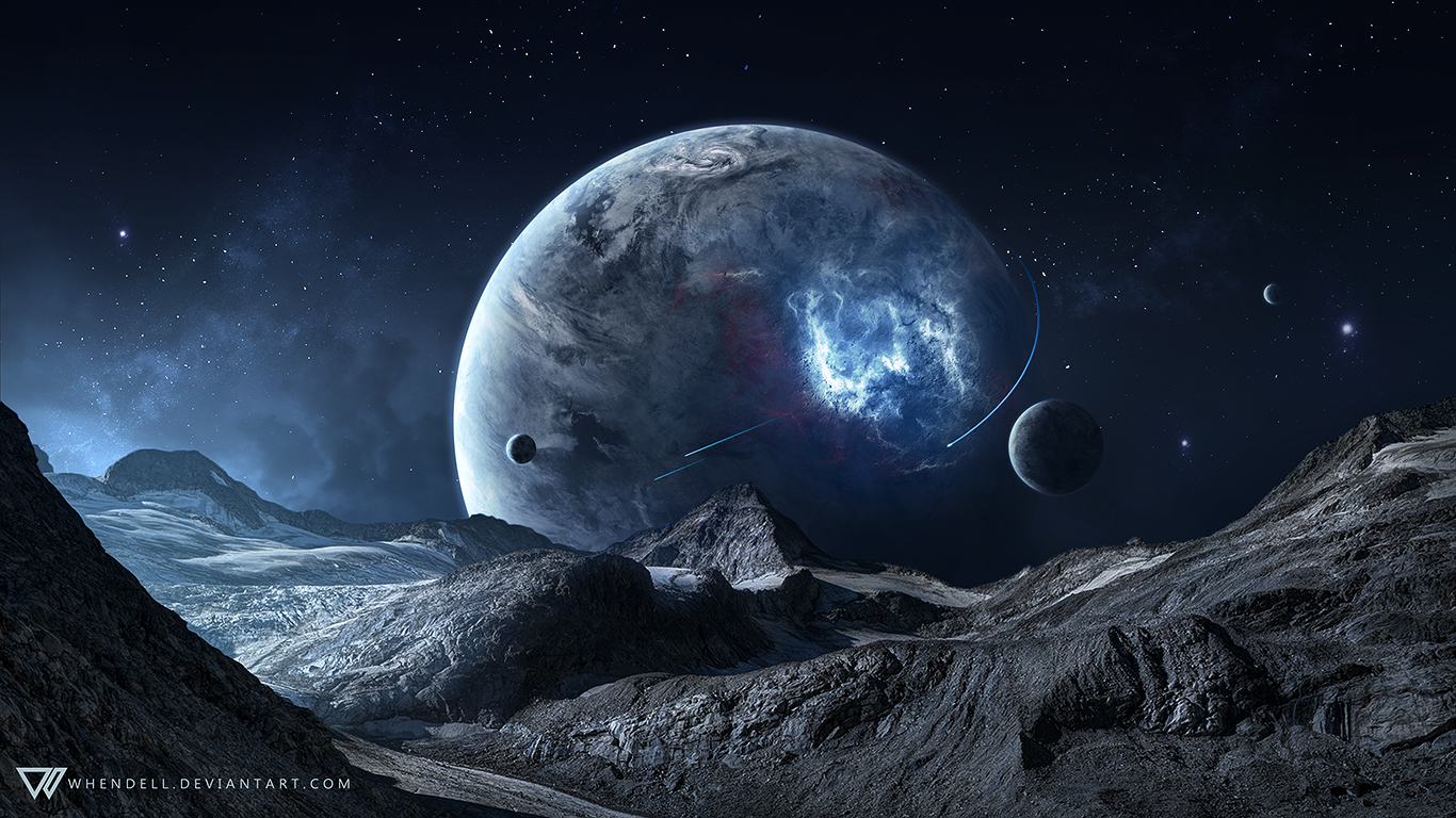 Blue Space by Whendell on DeviantArt