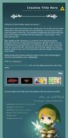 Chibi Link Journal Skin
