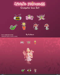 Little Princess Icon Set